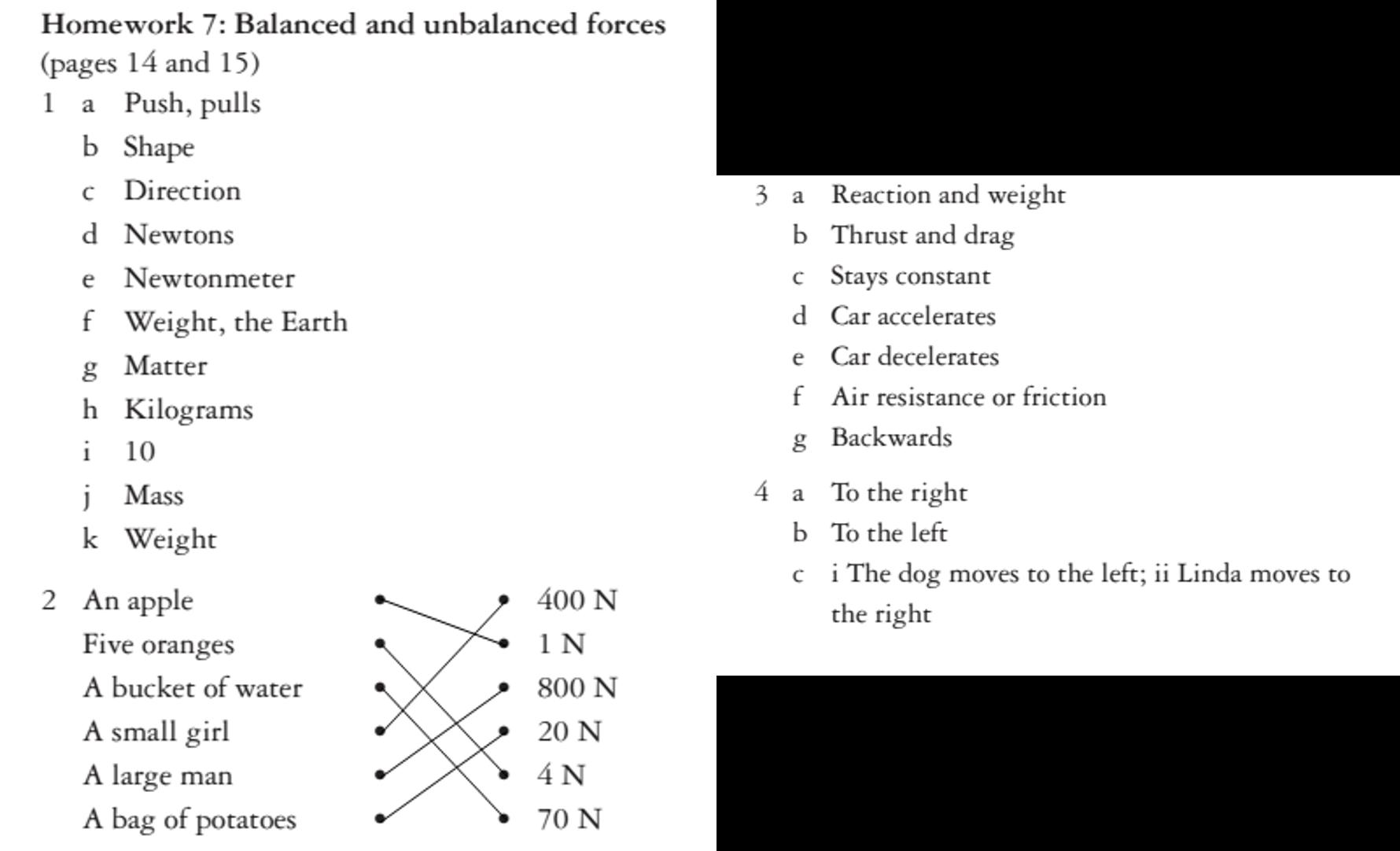Balanced And Unbalanced Worksheet